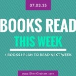 Books Read This Week 07-03-15