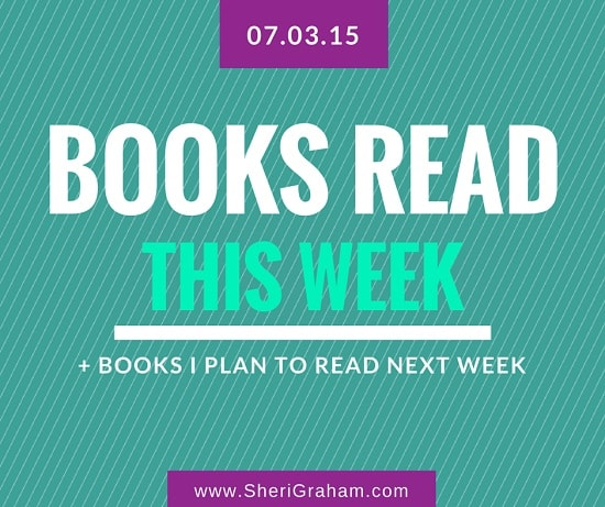 3 Books I Finished This Week + Books I Plan to Read Next Week