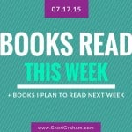 Books Read This Week - 07-17