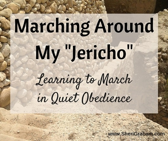 "Marching Around My ""Jericho"": Learning to March in Quiet Obedience"
