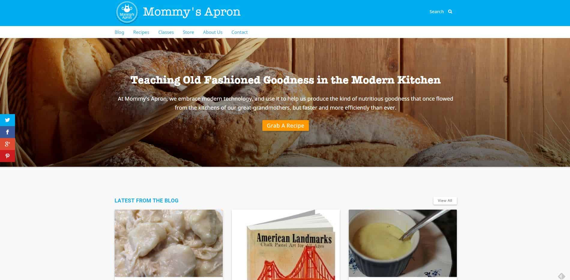 Mommy's Apron {New Site for Homemakers!}