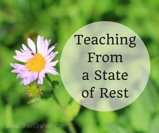Teaching From a State of Rest (Excellent video series by Andrew Kern)