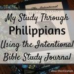 My Study Through Philippians
