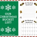 Our Christmas Bucket List (Free Printable)