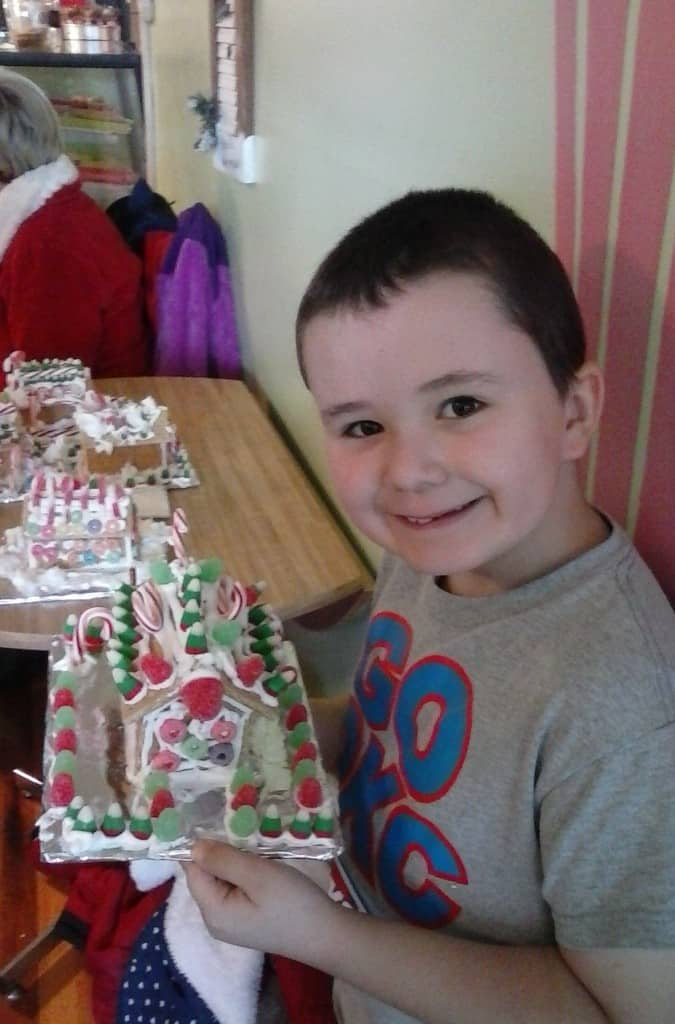 Wesley - Gingerbread House