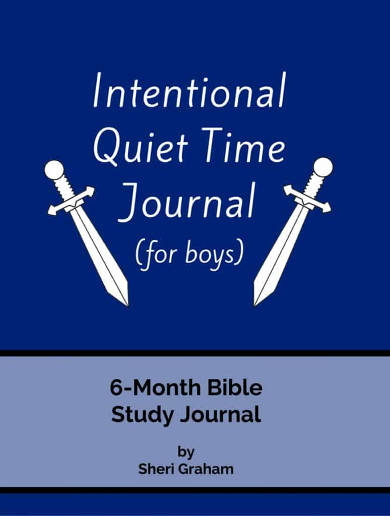 Intentional Quiet Time Journal-for boys-Cover