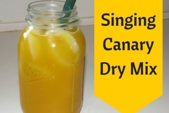 Singing Canary Dry Mix