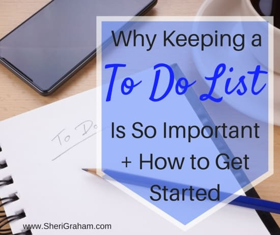 Why Keeping a To Do List Is So Important