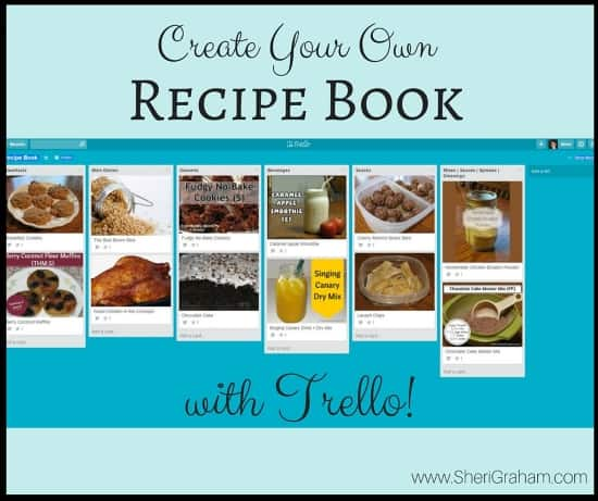 Create Your Own Recipe Book with Trello
