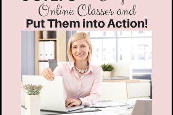 Are you in Online Classes and Workshops overload? (5 Steps to Actually Complete Online Classes and Put Them Into Action!)