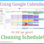 Using Google Calendar to Set Up Your Cleaning Schedule
