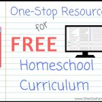 One-Stop Resource for FREE Homeschool Curriculum