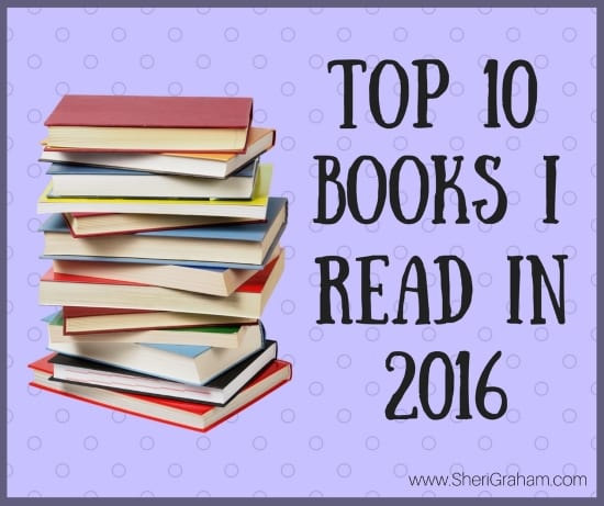 Top 10 Books Read in 2016
