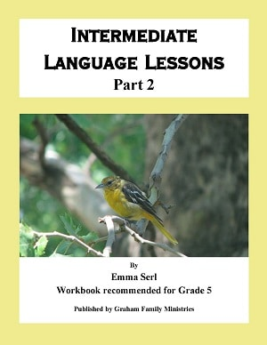 Intermediate Language Lessons - Part 2 (Grade 5)