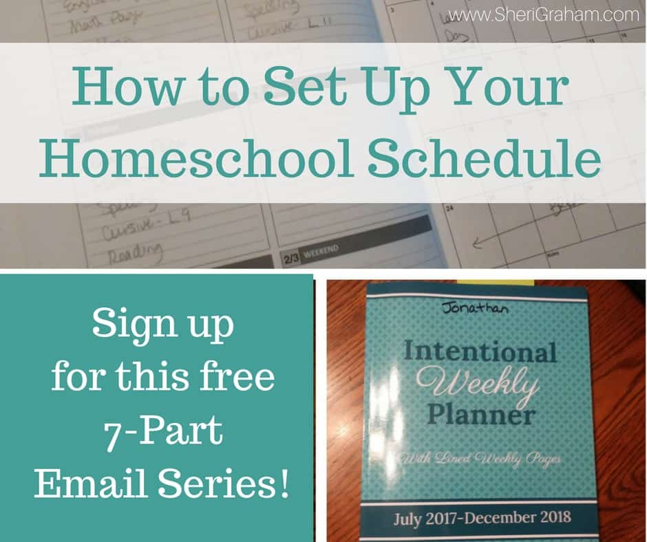 How to set up your homeschool year email series