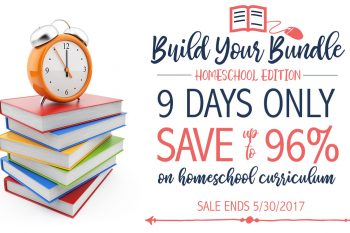 Huge Homeschool Sale Starts Today + Awesome Free Resources to Help You Shop!