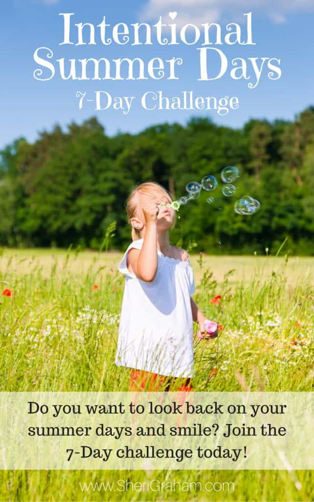 Intentional Summer Days - 7 Day Challenge