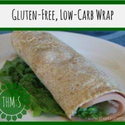 Gluten-Free, Low Carb Wrap