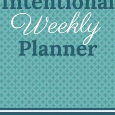 Intentional Weekly Planner-cover