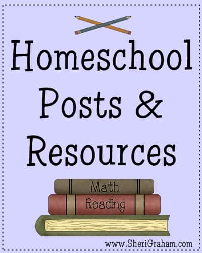 Homeschool Posts & Resources @ SheriGraham.com