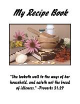 My Recipe Book {a fun project for your daughters!}