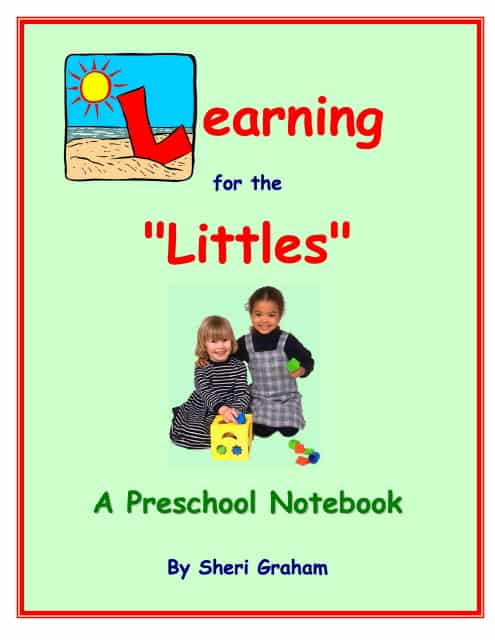 Learning for the Littles - A Preschool Notebook