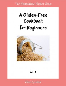 A Gluten-Free Cookbook for Beginners - Vol. 1 (Kindle book)