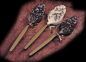 Homemade for the Holidays #2:  Chocolate Covered Spoons