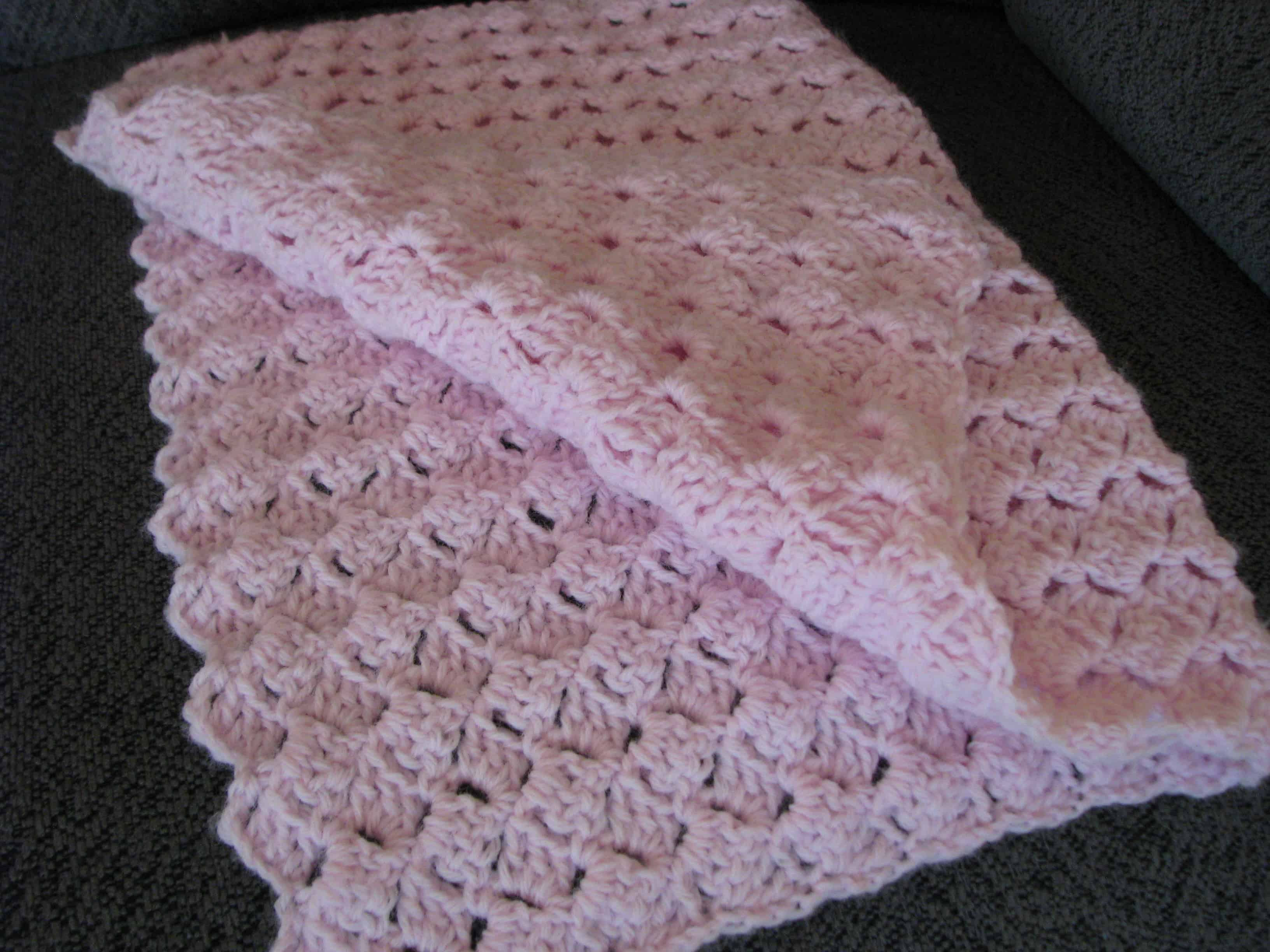 Homemade for the Holidays #20: Crocheted Baby Blanket or Afghan