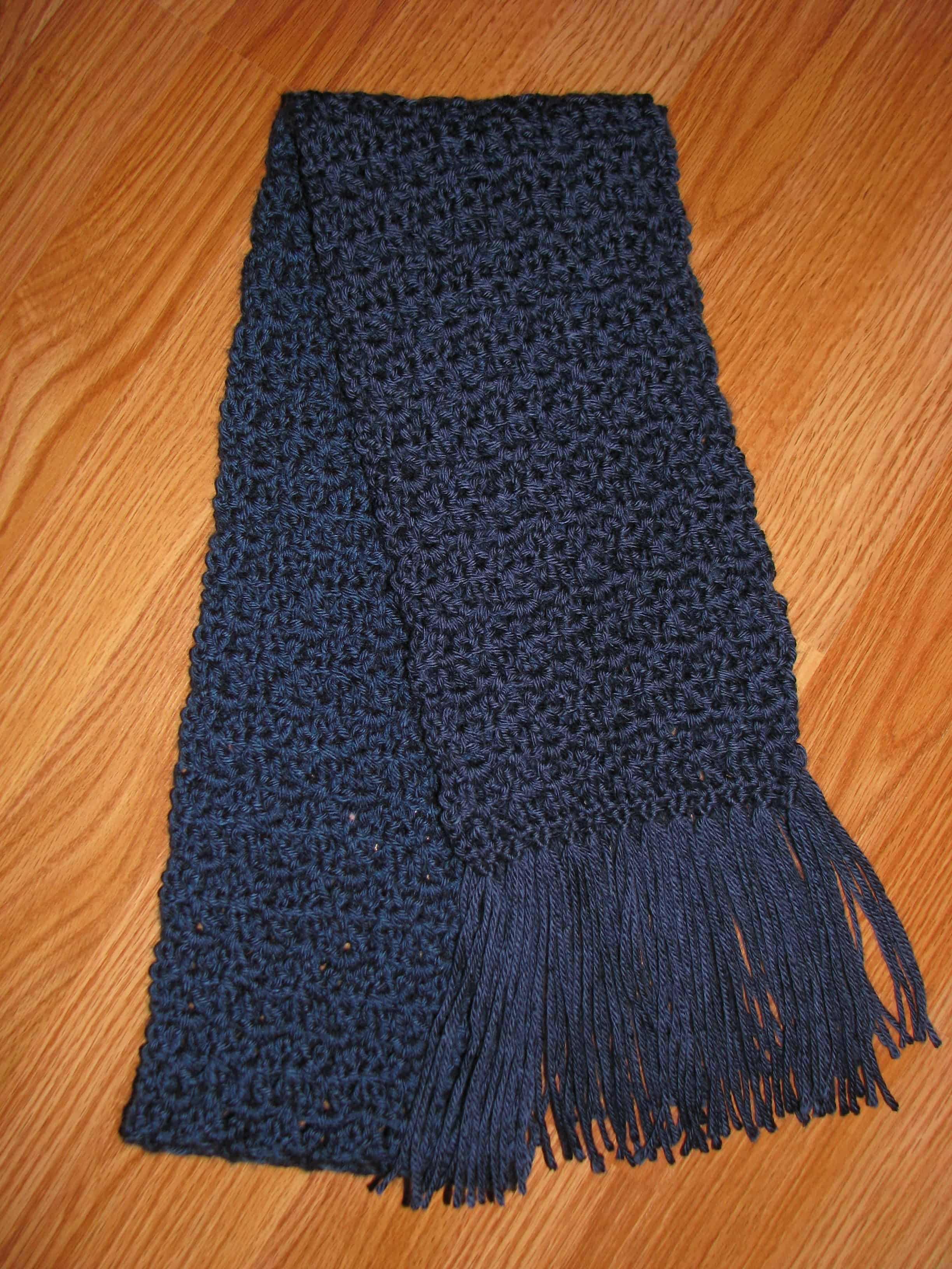 Homemade for the Holidays #23: Lacy Scarf {crochet project}