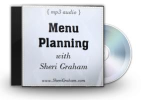 Menu Planning {audio} added to eStore!