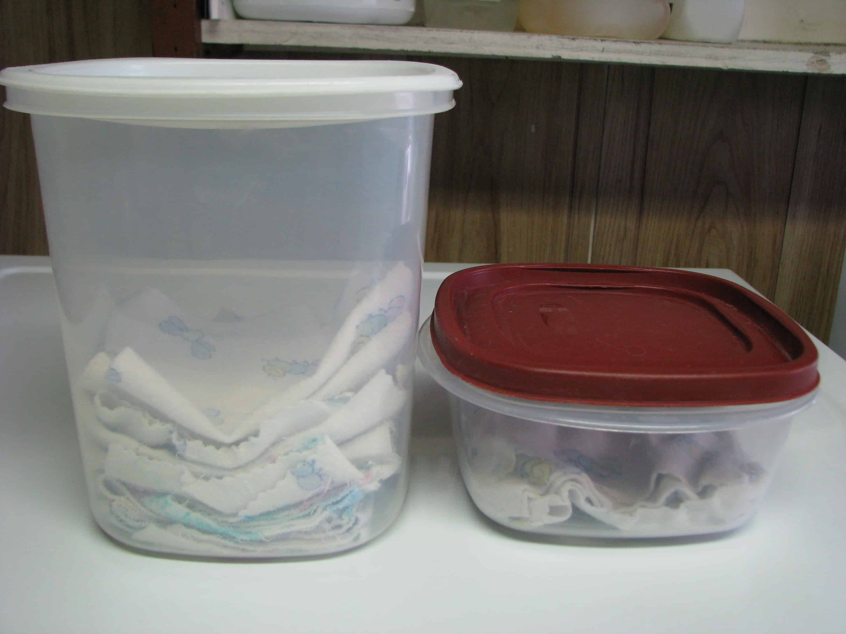 Natural Cleaners: Homemade Fabric Softener Sheets