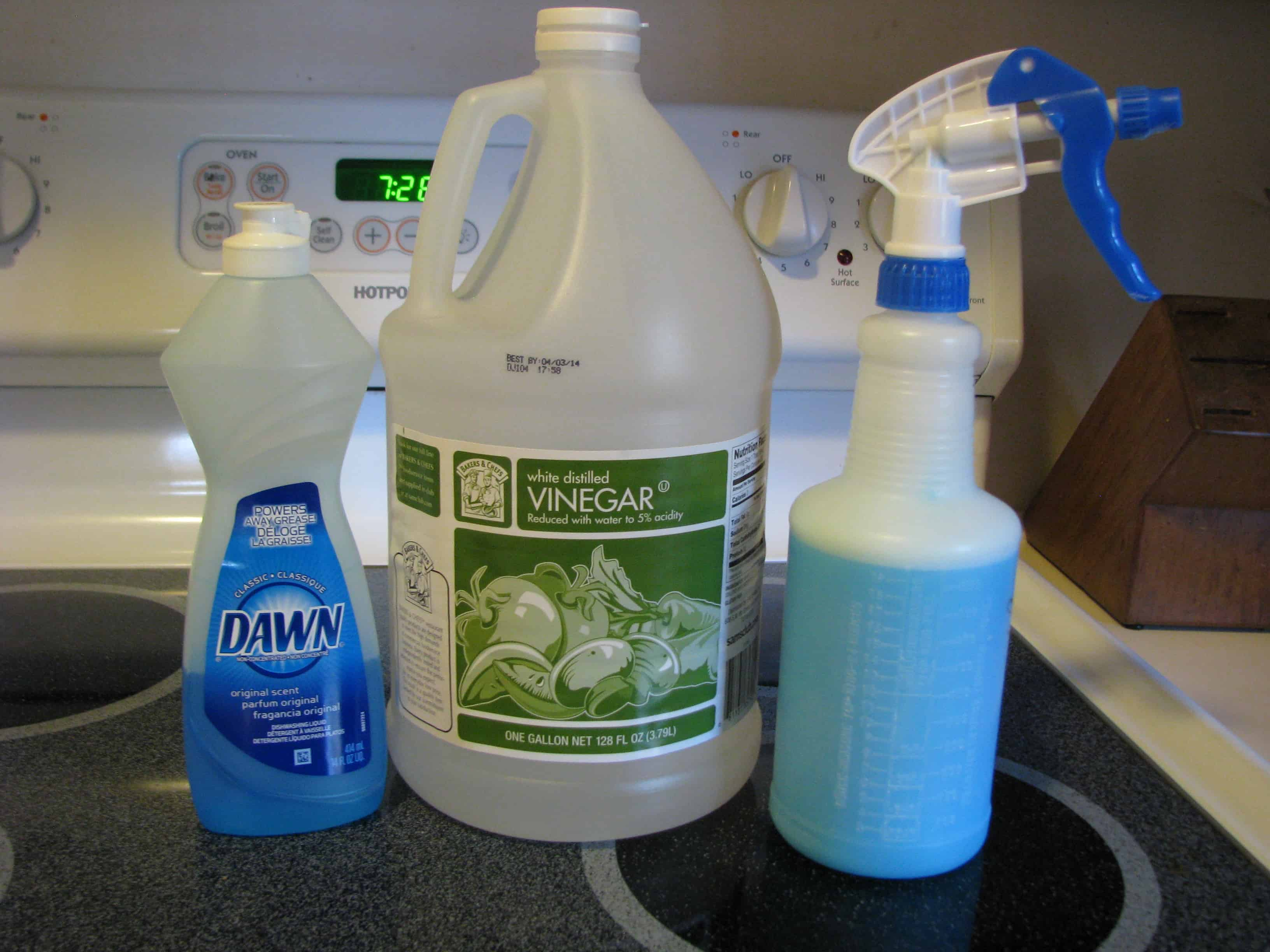 Amazing Bathroom Cleaner Recipe