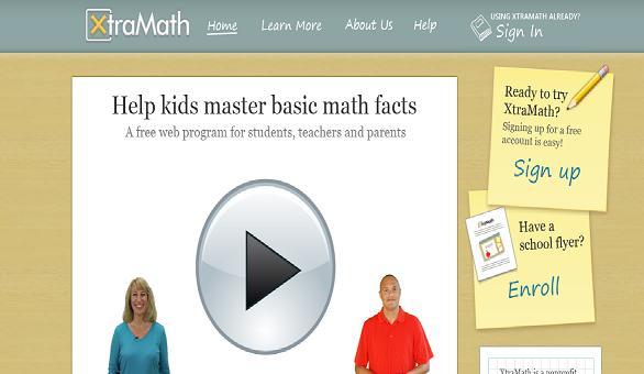 XtraMath – A free web program to master math facts