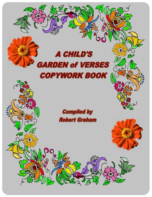 A Child's Garden of Verses Copywork Book – Now available as a softcover book!