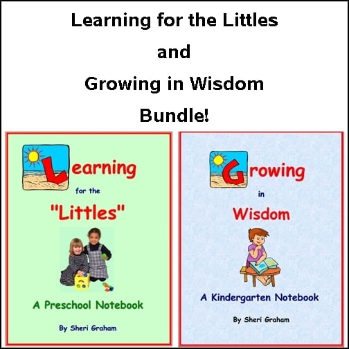 Learning for the Littles and Growing in Wisdom Bundle
