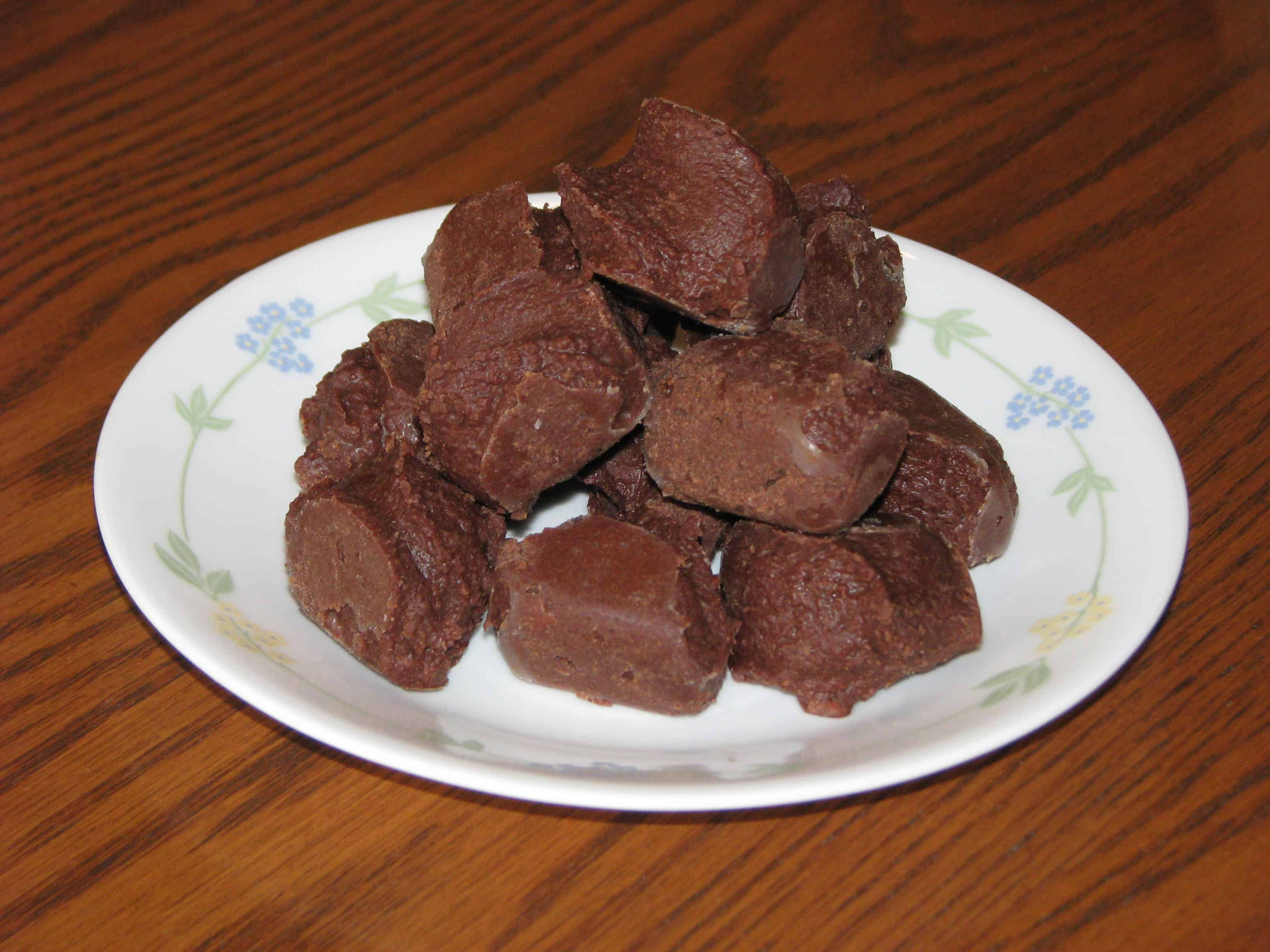 Rich Chocolate Fudge – S