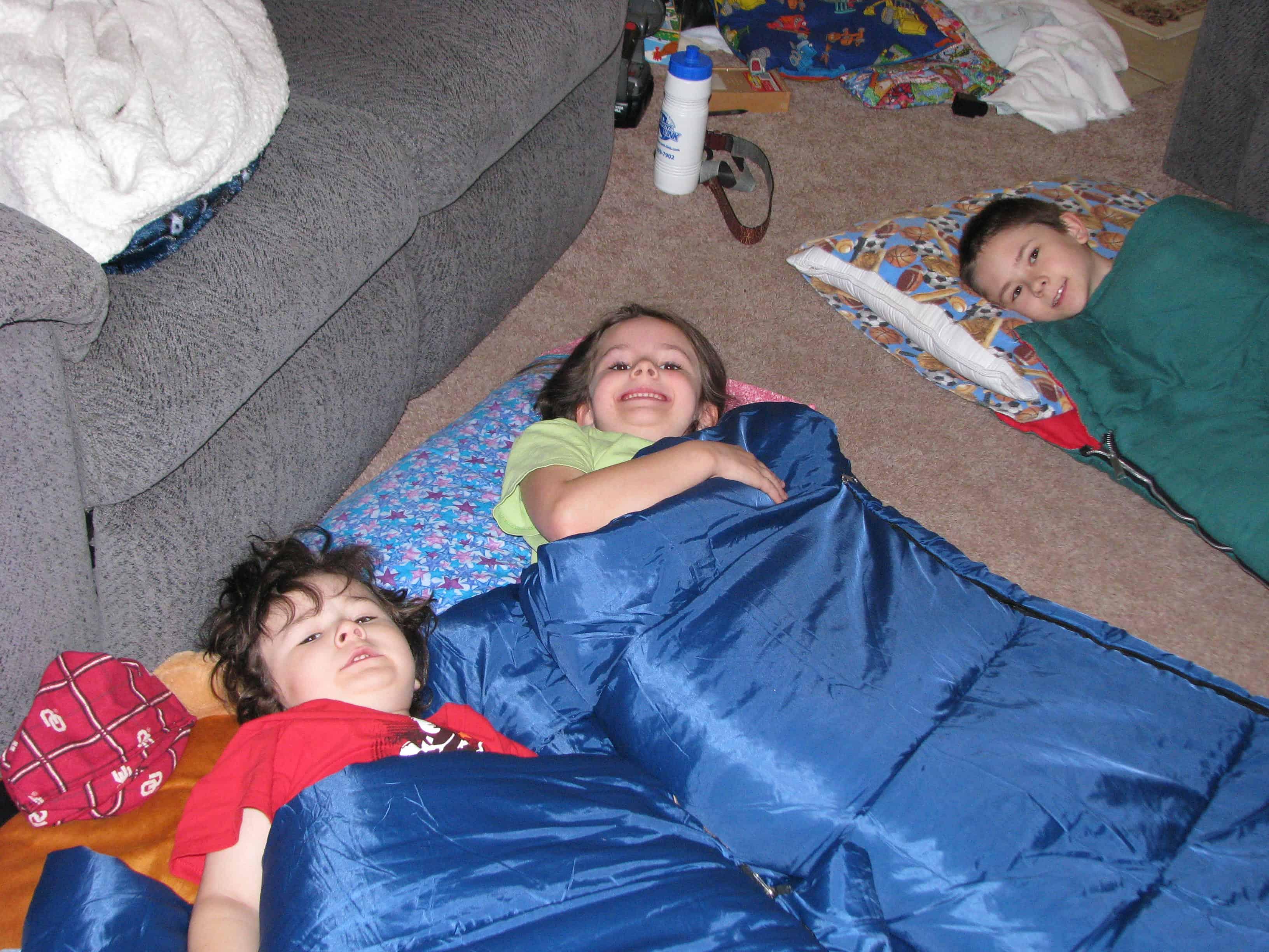 Slumber Parties & Sickness