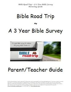 Bible Road Trip {A 3 Year Bible Survey for Grades 1-12 – FREE!}