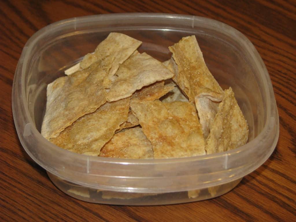 Trim Healthy Mama {Lavash Chips}