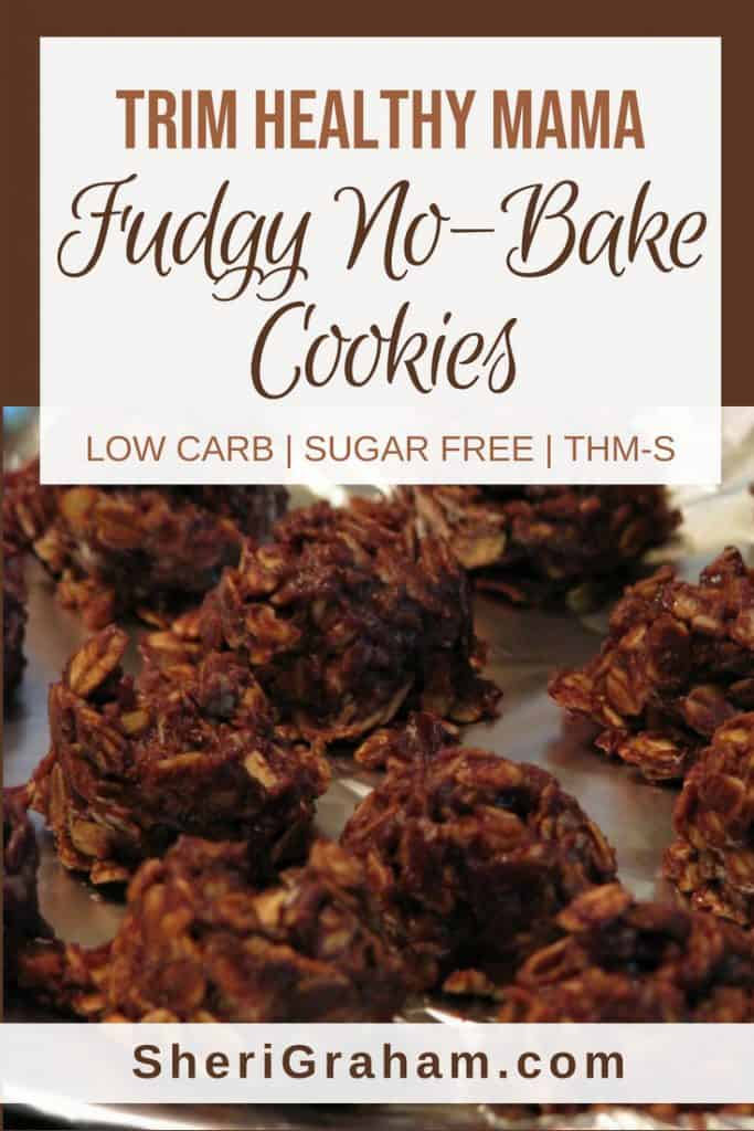 Trim Healthy Mama Fudgy No Bake Cookies S Sheri Graham Helping You Live With Intention And Purpose