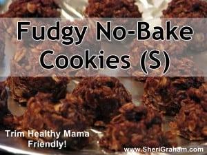 No-bake cookies on a pan.