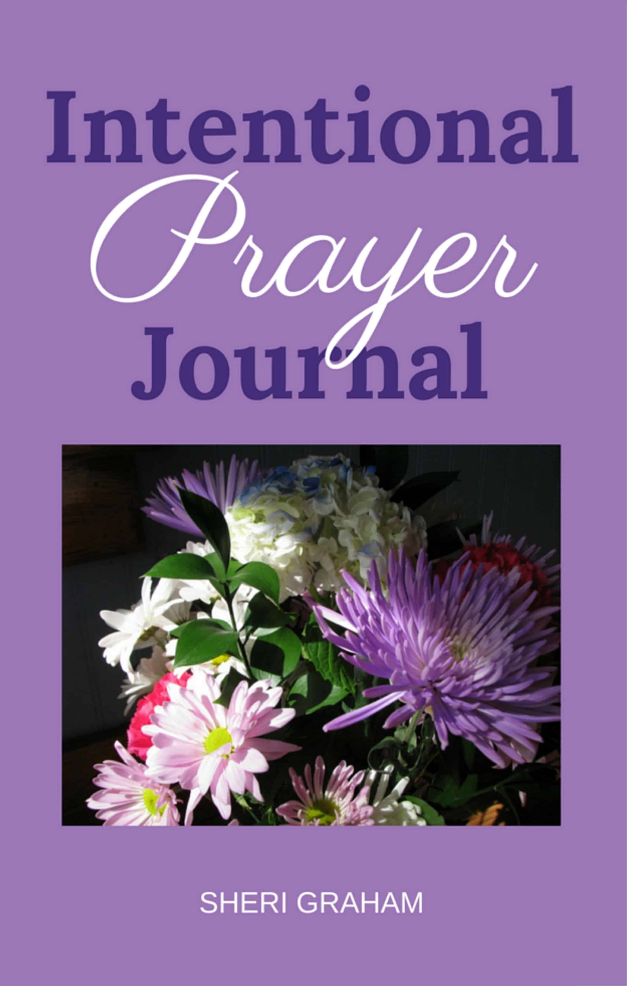 New Book: Intentional Prayer Journal