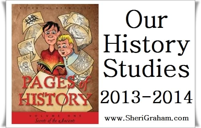 Our History Studies 2013-2014