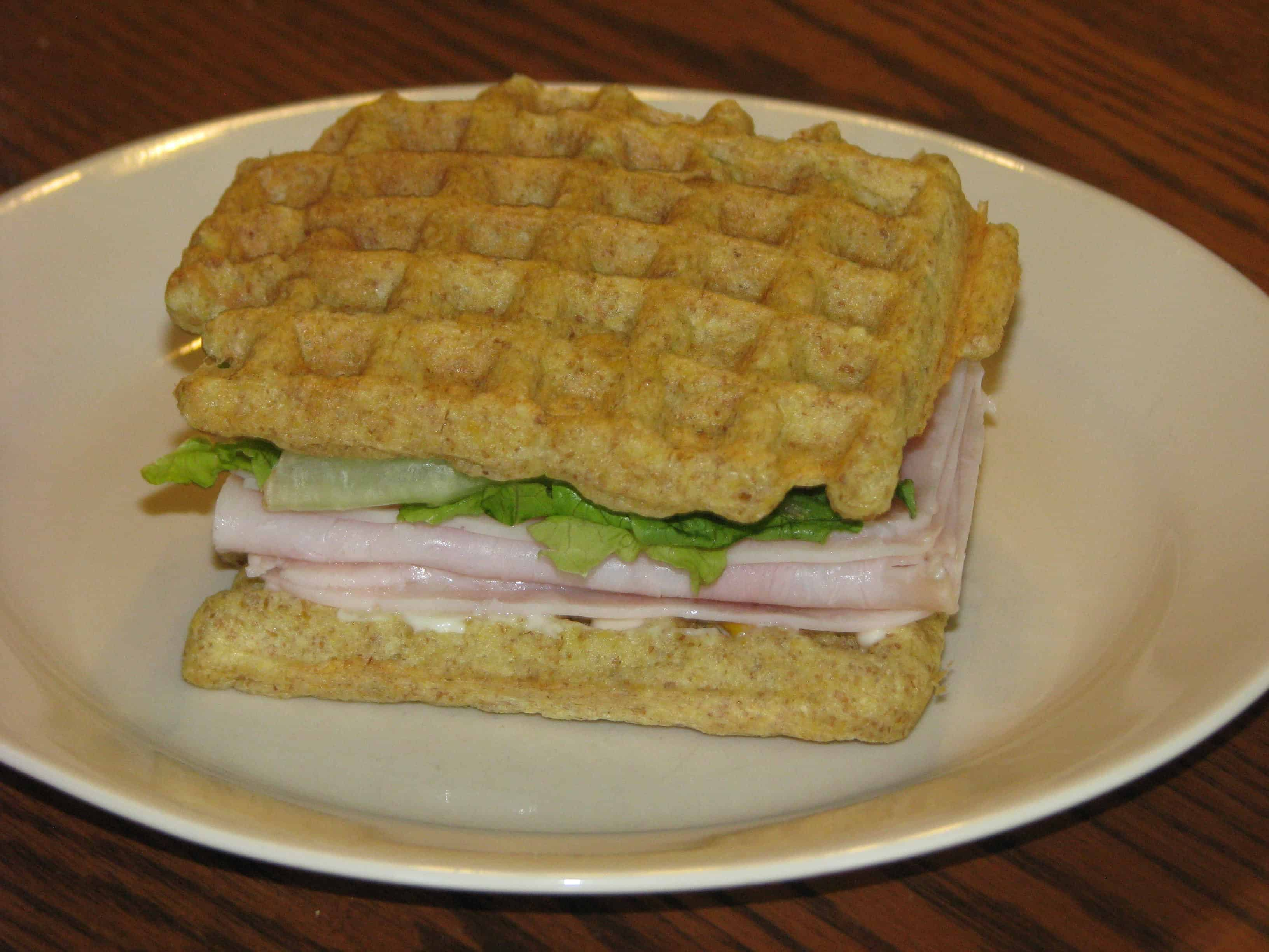 "Trim Healthy Mama {Waffle Bread for Great Sandwiches! – ""S""}"