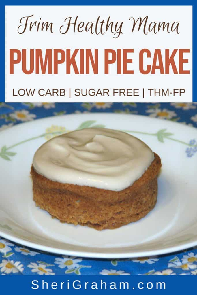 Pumpkin pie cake on a plate.