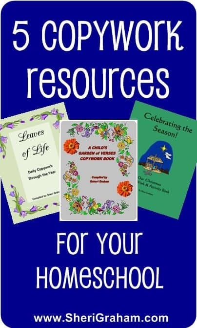 5 Copywork Resources for Your Homeschool