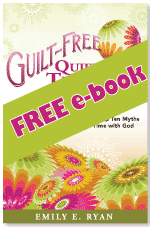 Guilt Free Quiet Times