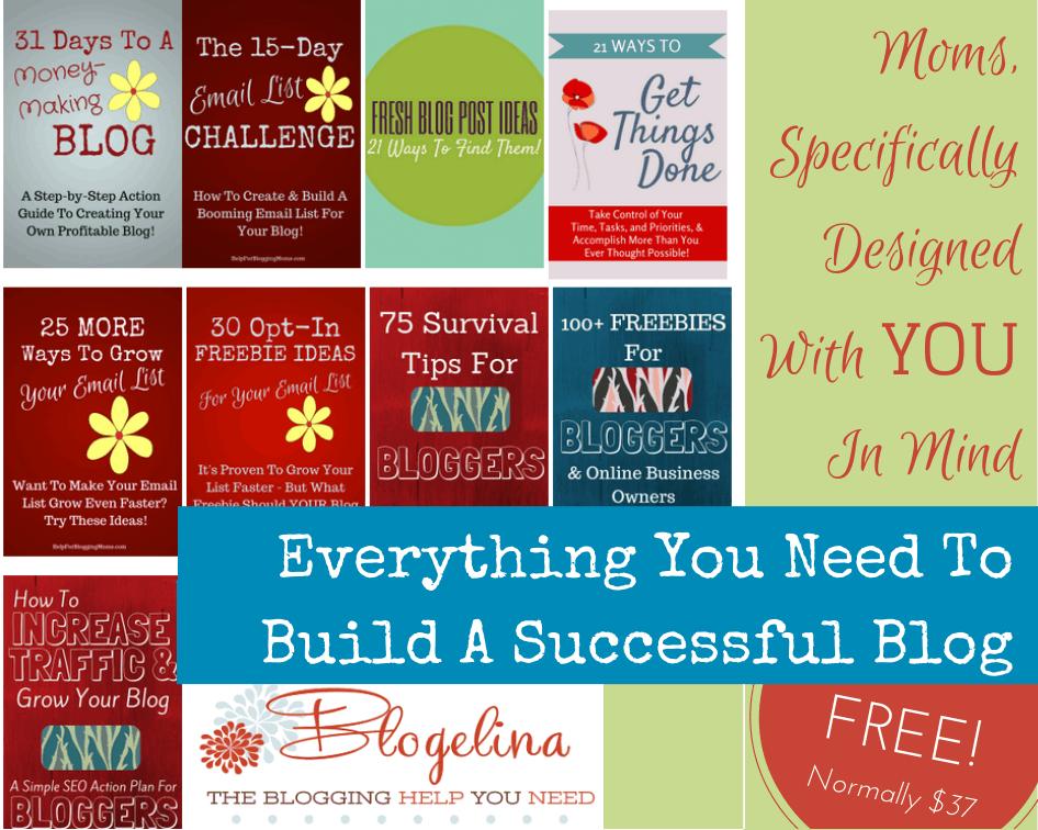 Free Blogging Bundle for Moms!