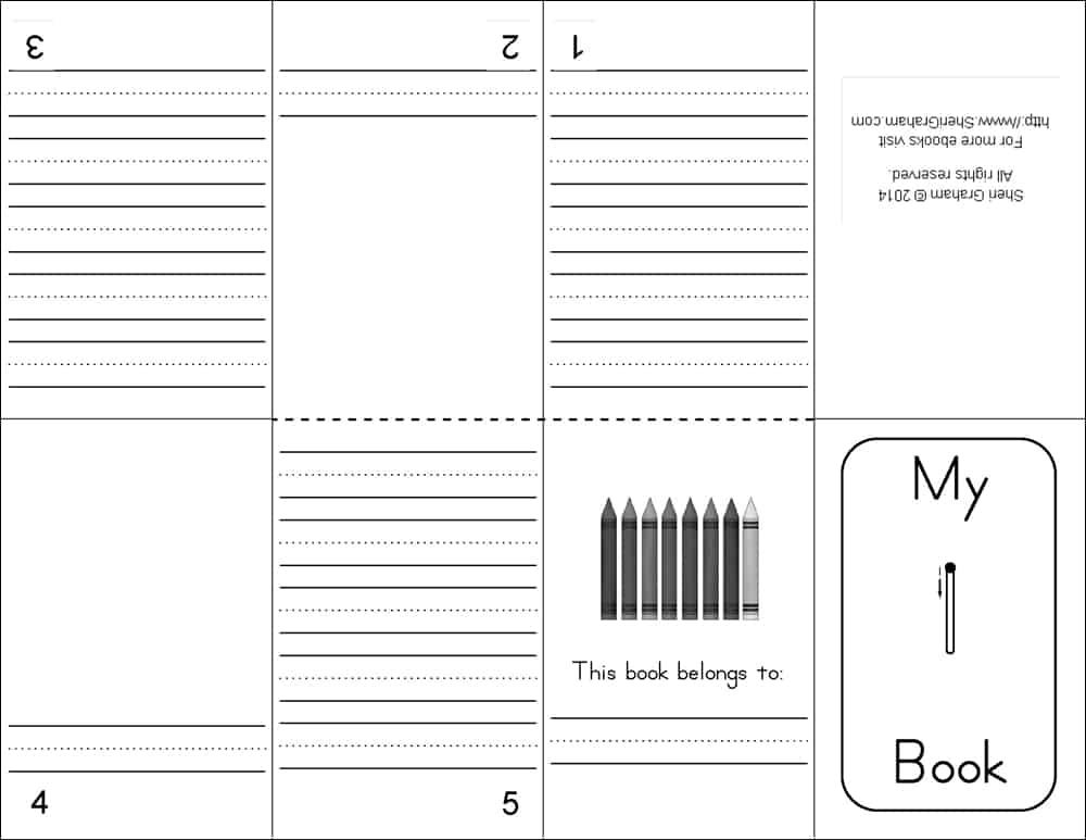 Mini Books - Numbers 1-20